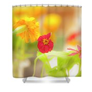 Pick Me Up Flowers Shower Curtain
