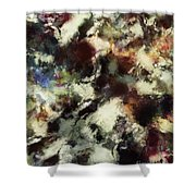 Picking Up The Fragments Shower Curtain
