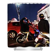 Picture Of Picture Taker Shower Curtain