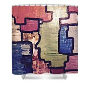 Pieces Of The Puzzle Shower Curtain
