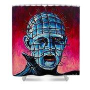 Pinhead Hellraiser Shower Curtain