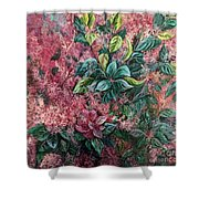 Pink Infusion Shower Curtain