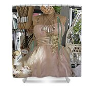 Pink Lady Series 01 Shower Curtain