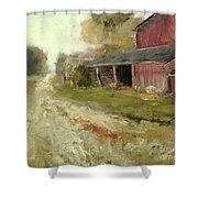 Pipersville Farm Shower Curtain