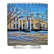 Pittsford Village Hall Shower Curtain