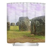 Plain Of Jar Shower Curtain