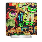 Play In Imagination Shower Curtain