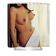 Playboy, Miss August 1964 Shower Curtain