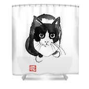Plongee Shower Curtain