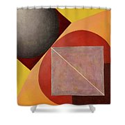 Point Line And Plane Shower Curtain