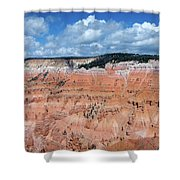 Point Supreme Overlook - Cedar Breaks - Utah  Shower Curtain