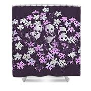 Polar Pop Art Shower Curtain