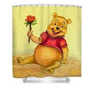 Pooh Bear Shower Curtain