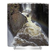 Pool At The Falls  Shower Curtain