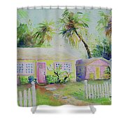 Port A Cabins Shower Curtain