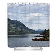Port Alice Shower Curtain by Randy Hall