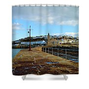 Porthleven Cornwall Shower Curtain