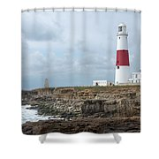 Portland Bill Shower Curtain