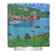 Portofino, Italy 2 Shower Curtain