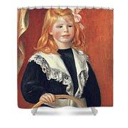 Portrait De Jean Renoir Shower Curtain