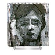 Portrait Of A Boy Shower Curtain