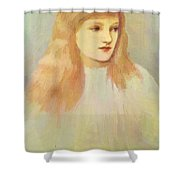 Portrait Of Cecily Horner Shower Curtain