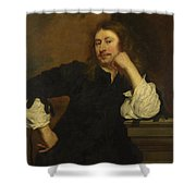 Portrait Of Lucas Fayd Herbe  Shower Curtain
