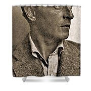 Portrait Of Ludwig Wittgenstein, 1947 Shower Curtain