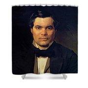 Portrait Of Yakov Merkulov Shower Curtain