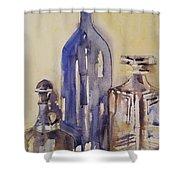 Pour  Shower Curtain