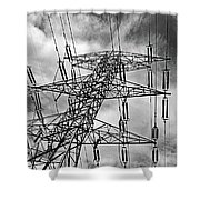 Power Tower No. 3 Shower Curtain
