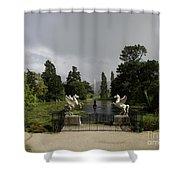 Powers Court Gardens - Ireland Shower Curtain