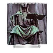 Prague Statue Shower Curtain