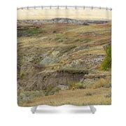 Prairie Edge September Reverie Shower Curtain