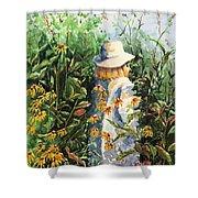 Prairie Girl Shower Curtain