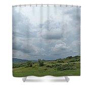 Prairie Sky In July Shower Curtain