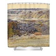 Prairie Slopes Reverie Shower Curtain
