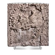 Pre Columbian Machine Gun Shower Curtain