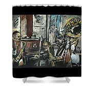 Preservation Hall Jazz Band Shower Curtain