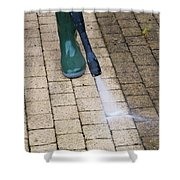 Pressure Washing Specialist At Lake Nona  Shower Curtain