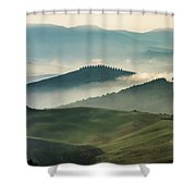 Pretty Morning In Toscany Shower Curtain