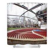 Pritzker Pavilion - Millennium Park Shower Curtain