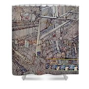 Production Line Shower Curtain