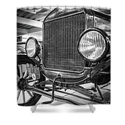 Puebla Model T Shower Curtain