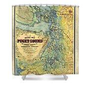 Puget Sound Shower Curtain