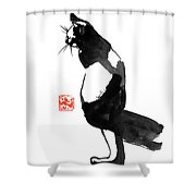 Pukistal Shower Curtain