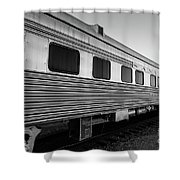 Pullman Passenger Cars Santa Fe Railroad Shower Curtain