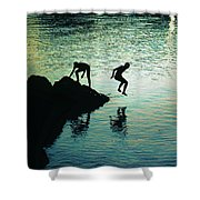 Pure Happiness Shower Curtain