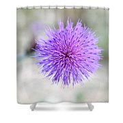 Purple Peace Shower Curtain