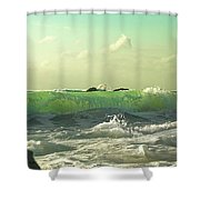 Quiet Before The Storm Shower Curtain